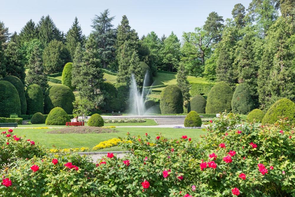 Allestimento e progettazione giardini pubblici e privati Firenze
